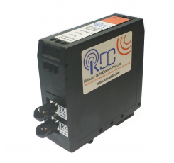RS-232 to Multimode Fiber Optic Converter (rdc232MFO-dv-2p-st-d)