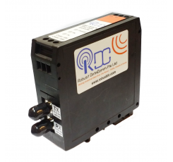 RS-232 to Singlemode Fiber Optic Converter (rdc232SFO-dv-2p-st-d)