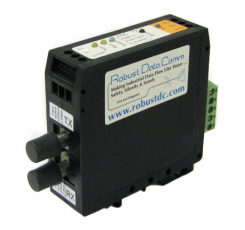 RS-485 to Fiber Optic Converter (Single Mode) (rdc485fos-dv-2p-st)
